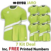 Jaro 7 Kit Deal - Green Fluo/White