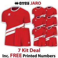 Jaro 7 Kit Deal - Red/White
