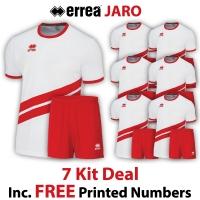 Jaro 7 Kit Deal - White/Red