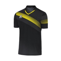 Athens Jersey - Black/Yellow Fluo