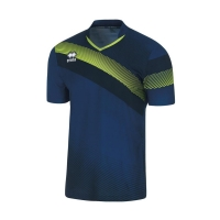 Athens Jersey - Navy/Green Fluo