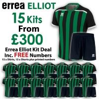 Errea Elliot 15 Kit Deal - Black/Green