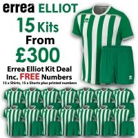 Errea Elliot 15 Kit Deal - Green/White
