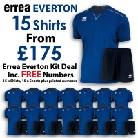 Everton 15 Kit Deal - Blue/Black