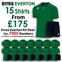 Everton 15 Kit Deal - Green/Black