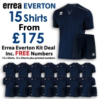 Everton 15 Kit Deal - Navy/Black