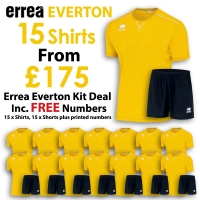 Everton 15 Kit Deal - Yellow/Black