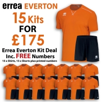 Everton 15 Kit Deal - Orange/Black