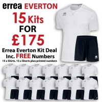 Everton 15 Kit Deal - White/Black