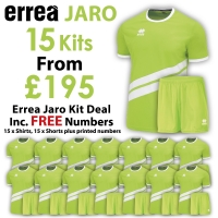 Jaro 15 Kit Deal - Green Fluo/White
