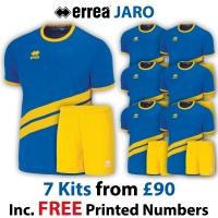 Jaro 7 Kit Deal - Blue/Yellow