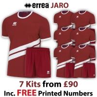 Jaro 7 Kit Deal - Maroon/White