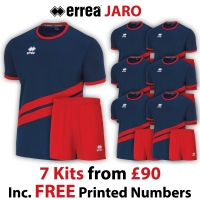 Jaro 7 Kit Deal - Navy/Red