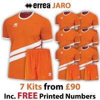 Jaro 7 Kit Deal - Orange/White