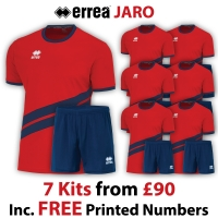 Jaro 7 Kit Deal - Red/Navy