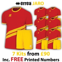 Jaro 7 Kit Deal - Red/Yellow