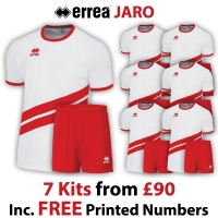 Jaro 7 Kit Deal - White/Red