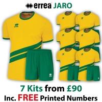 Jaro 7 Kit Deal - Yellow/Green