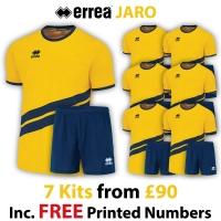 Jaro 7 Kit Deal - Yellow/Navy