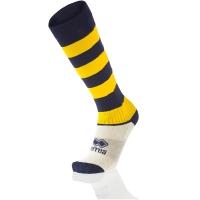 Zone Socks - Navy/Yellow