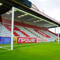 Senior Europa Stadium Box Goal (24ft x 8ft) - PAIR
