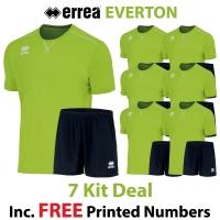 Everton 7 Kit Deal - Green Fluo