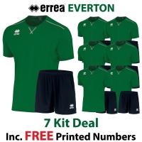 Everton 7 Kit Deal - Green