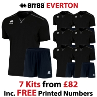 Everton 7 Kit Deal - Black
