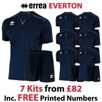 Everton 7 Kit Deal - Navy