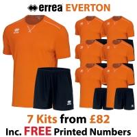 Everton 7 Kit Deal - Orange Fluo