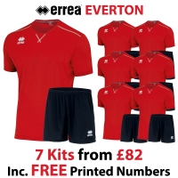 Everton 7 Kit Deal - Red