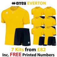Everton 7 Kit Deal - Yellow