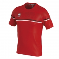 Errea Diamantis Jersey - Red/Black/White