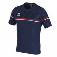 Errea Diamantis Jersey - Navy/Red/White