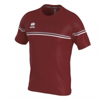Errea Diamantis Jersey - Maroon/Grey/White