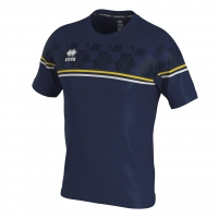 Errea Diamantis Jersey - Navy/Yellow/White