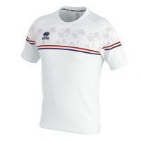 Errea Diamantis Jersey - White/Red/Navy