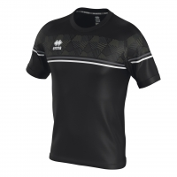 Errea Diamantis Jersey - Black/Anthracite/White