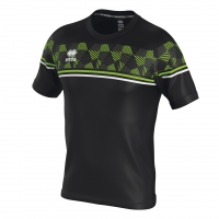 Errea Diamantis Jersey - Black/Green Fluo/White