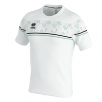Errea Diamantis Jersey - White/Black/After Eight
