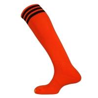 Mercury 3 Stripe Socks - Tangerine/Black
