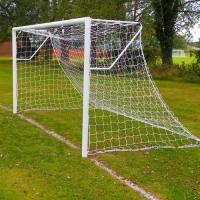 Mini Soccer Club Socketed Goal - (12ft X 6ft) - PAIR
