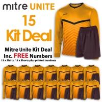 Mitre Unite 15 Kit Deal - Amber/Black