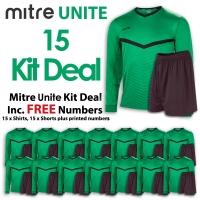 Mitre Unite 15 Kit Deal - Emerald/Black