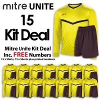 Mitre Unite 15 Kit Deal - Yellow/Black
