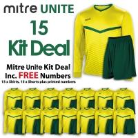 Mitre Unite 15 Kit Deal - Yellow/Green