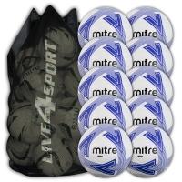 Impel White/Blue 10 Ball Deal Plus FREE Bag