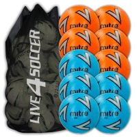 Impel Mixed Orange & Blue 10 Ball Deal Plus FREE Bag