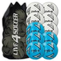 Impel Mixed White & Blue 10 Ball Deal Plus FREE Bag