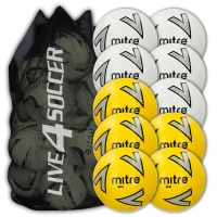 Impel Mixed White & Yellow 10 Ball Deal Plus FREE Bag